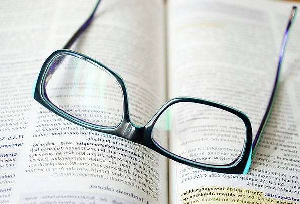 Glasses Spectacles Recite Learn Study Read Trainin