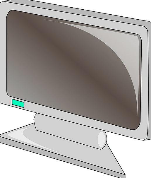 Monitor Communication Shade Computer Flat Level Sc