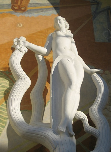 Statue Figurine Fashion Lady Beauty Nude Unclothed