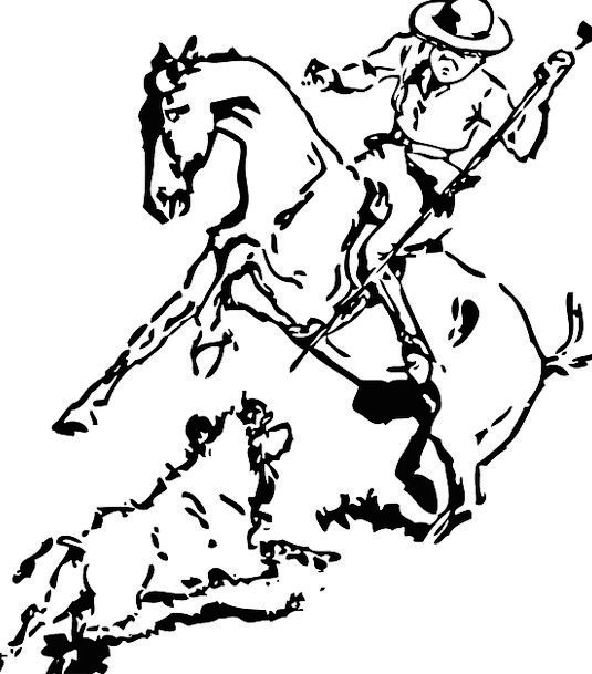 Cowboy Unreliable Proviso Hunting Shooting Rider N