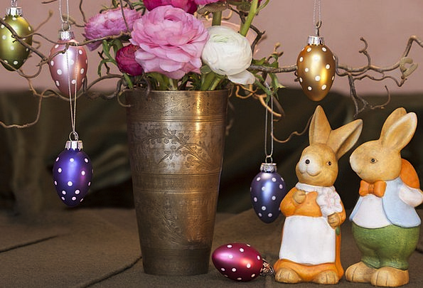 Easter Bunny Taxes Custom Tradition Customs Pewter
