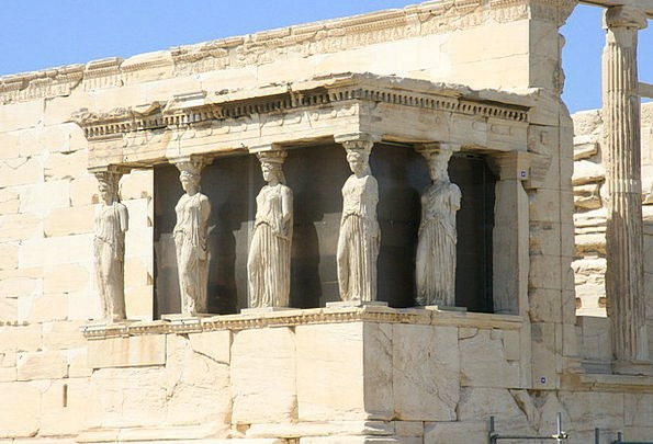 Monument Memorial Buildings Architecture Caryatid