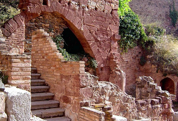 Ruins Shells Buildings Gravels Architecture Stairs