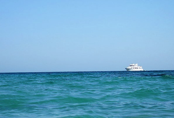 Blue Azure Vacation Ship Travel Cruise Voyage Boat