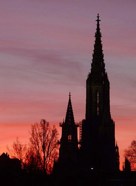Münster Ecclesiastical Dom Church Pastel Building