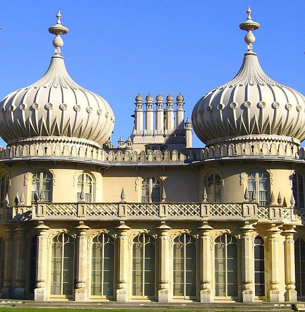 Brighton Buildings Regal Architecture Pavilion Rot