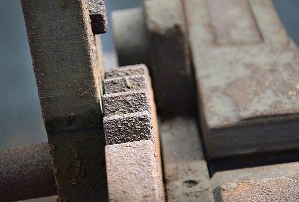 Rust Corrosion Mechanism Teeth Fangs Machine Facto