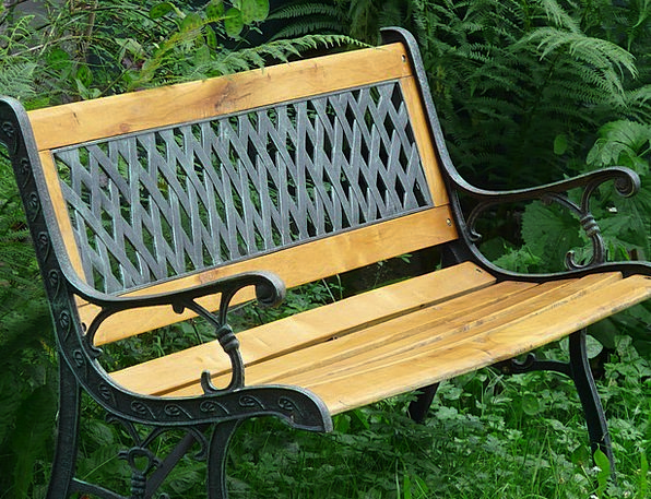 Bank Set Sit Be seated Garden Bench Space Interpla