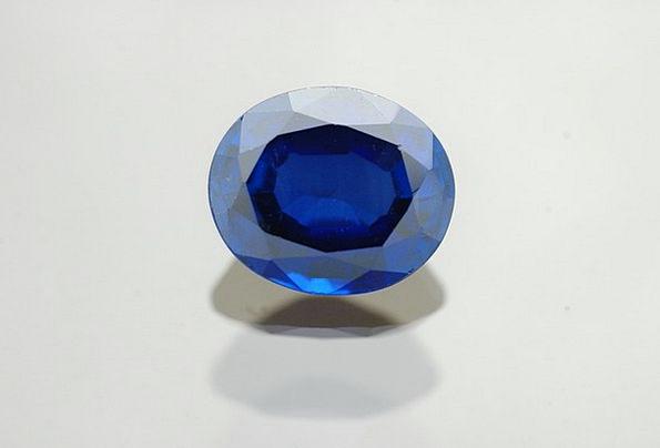 Gem Azure Jewel Ornament Sapphire Blue Gemstone