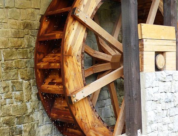 Wheel Helm Grinder Mill Wheel Mill Water Aquatic F