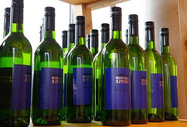 Wine Bottles White Wine Wines Blue Alcohol Liquor