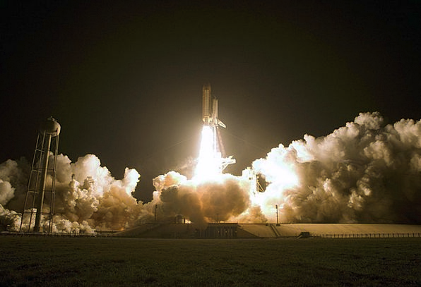 Space Shuttle Space capsule Twitch Fire Passion St