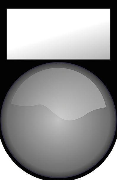 Tag Label Sticker Button Key Grey Button Push Butt