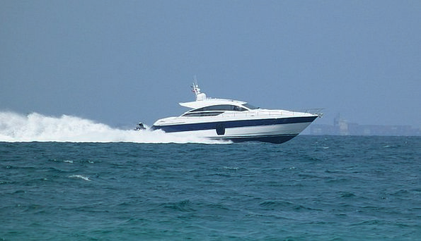 Powerboat Motorboat Haste Fast Debauched Speed For