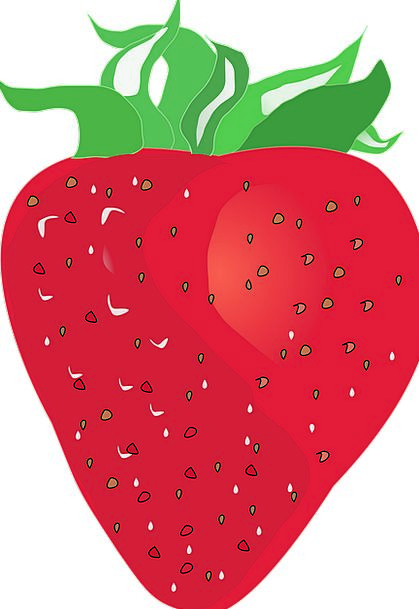 Strawberry Drink Bloodshot Food Fruit Ovary Red Is
