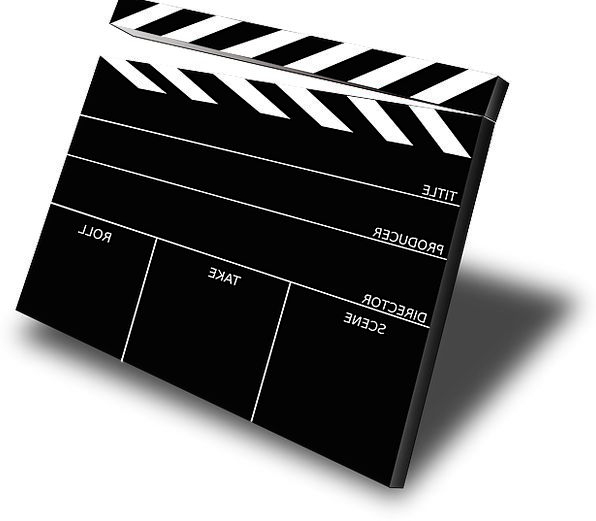 Clapboard Show Cinema Film Movie Free Vector Graph