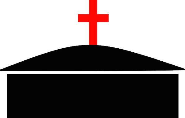 Cross Irritated New Novel Jesus Christianity Red B