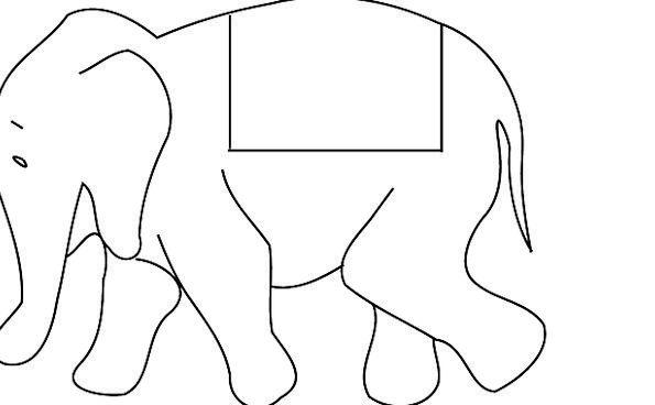 Elephant Monster Asian Indian Safari Animal Physic