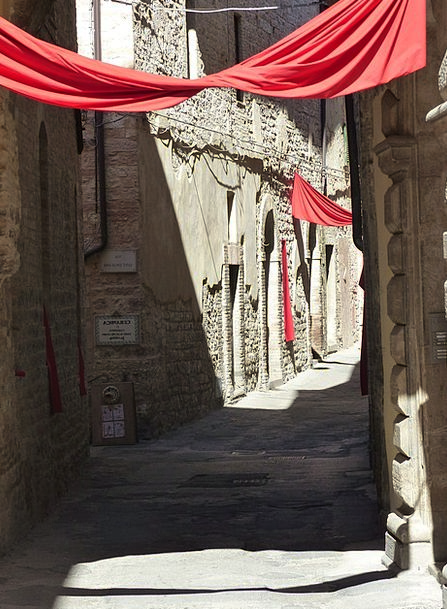 Umbria August Imposing Spello Ancient Antique Tusc