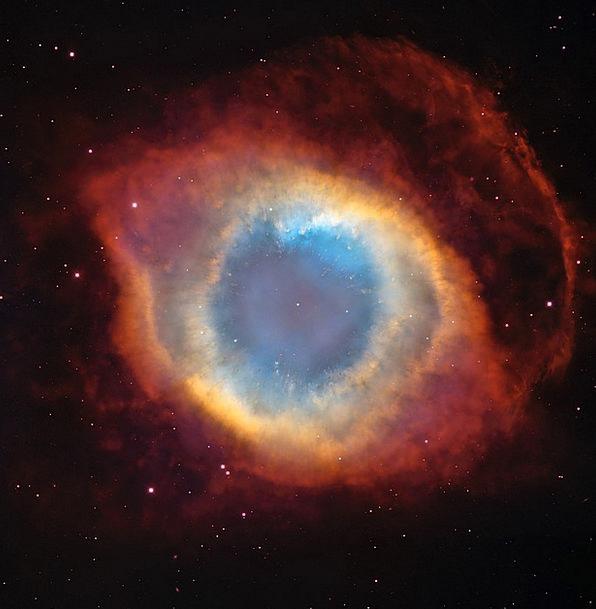 Helix Nebula Planetary Fog Ngc 7293 Astronautics C