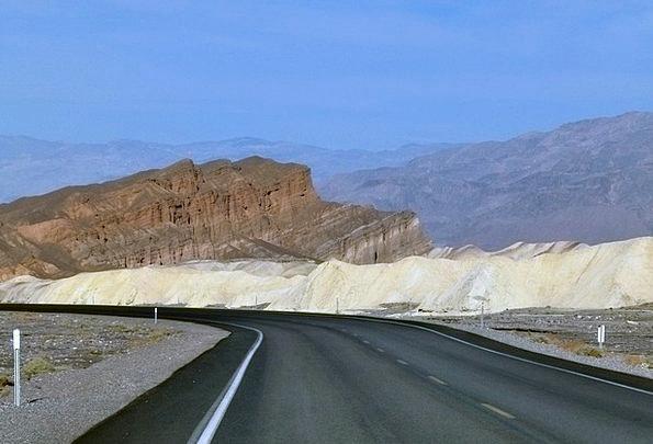 Zabriskie Landscapes Nature Death Valley Zabriskie