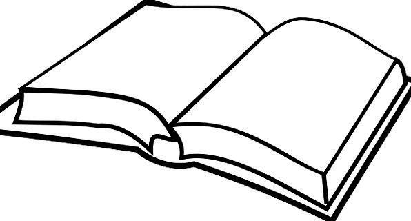 Book Volume Exposed Empty Unfilled Open Read Recit