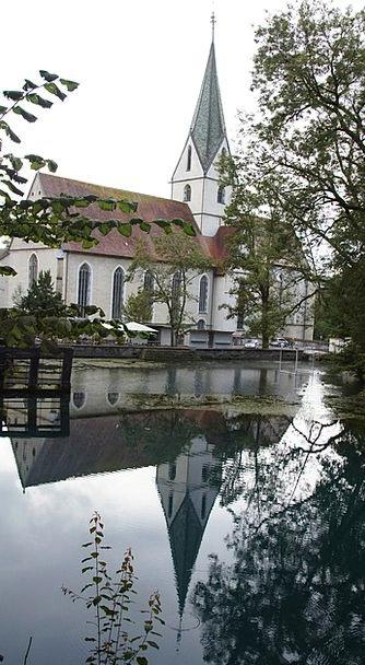 Blautopf Monastery Cloister Blaubeuren