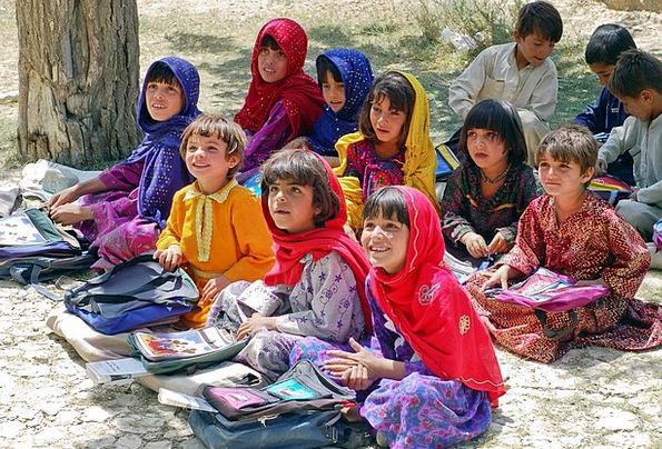 Girl Lassie Lass Learn Schulem Schoolgirl Afghanis