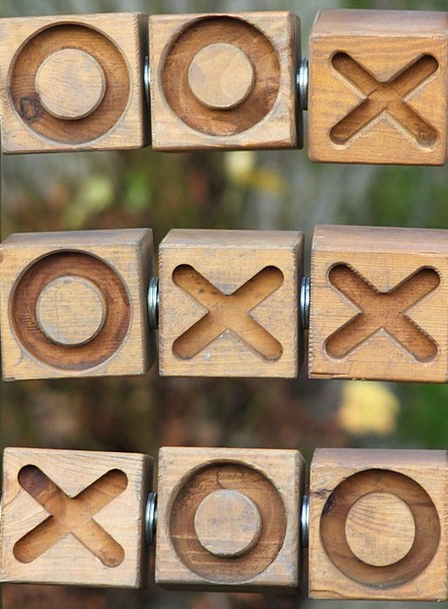 Tic Tac Toe Crosses Symbols Noughts Game Willing S