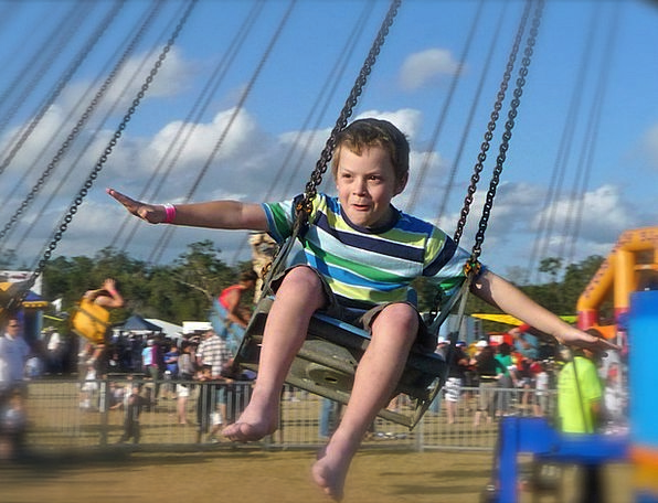 Child Youngster Hovering Joy Flying Fly Outdoor Ou