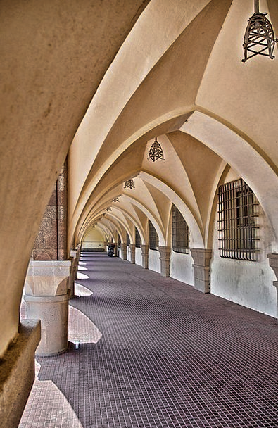 Rhodes Buildings Architecture Vaults Arches Greece