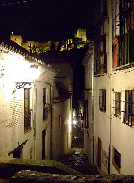Granada Albaycín Alhambra Andalusia Spain