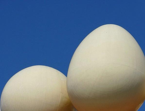 Egg Ovum Sphere Museum Gallery Ball Dalí Figueras