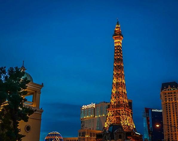 Las Vegas Buildings Architecture Paris Eiffel Towe