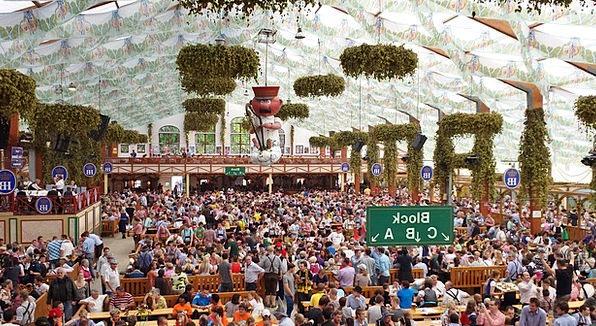 Oktoberfest Marquee Tent Hofbräu Aloysius