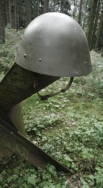 Czech Monuments Armed Places Helmet Hat Military O