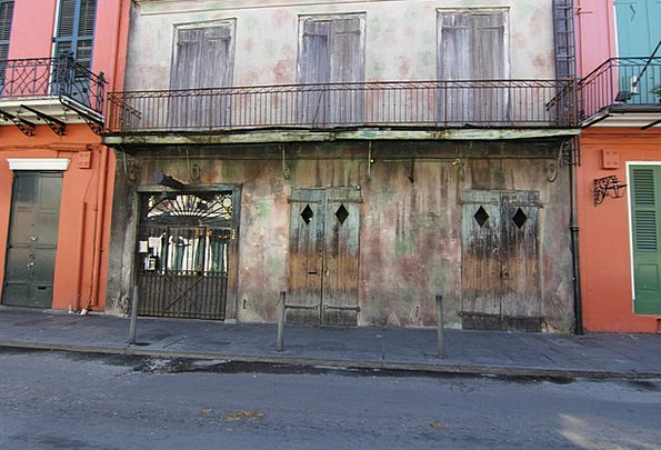 New Orleans Buildings Architecture Derelict Dilapi
