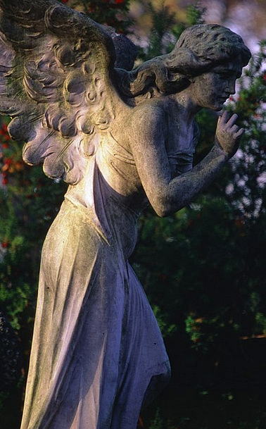 Sculpture Statue Buildings Graveyard Architecture