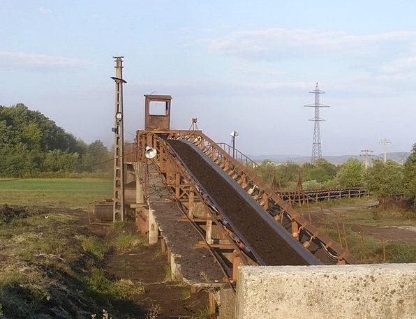 Belt Girdle Dark Coal Petroleum Black Conveyor Ene