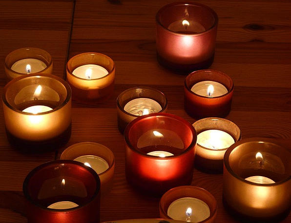 Candles Tapers Lowlight Light Bright Candlelight W