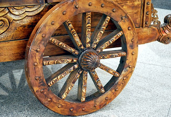 Wheel Helm Helms Round Rotund Wheels Wooden Timber