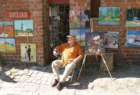 Artists Performers Life Artist Mecklenburg Western