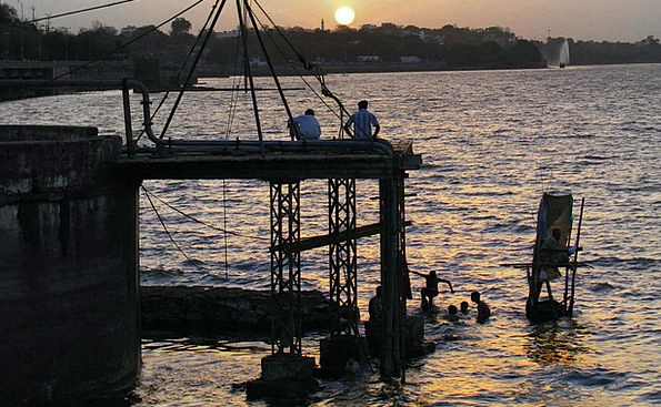 Sunset Sundown Vacation Travel Lake Freshwater Bho