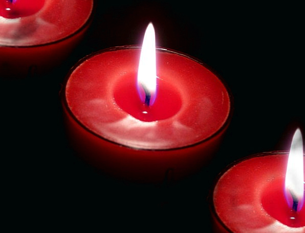 Candles Tapers Passion Burning Red-hot Fire Aromat