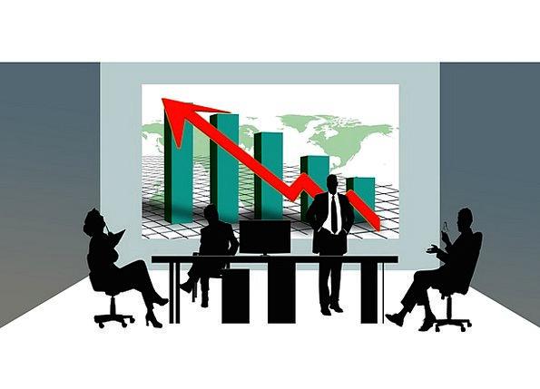 Economy Cheap Finance Collaboration Business Silho