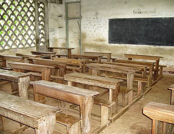 Cameroon University Classroom Schoolroom School De
