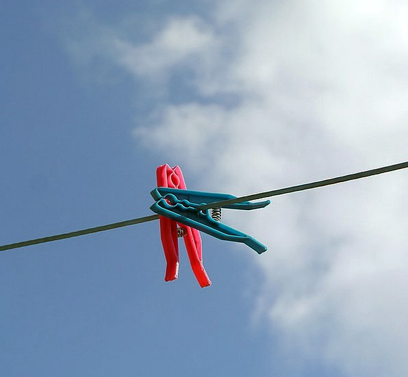 Clothesline Washing Clothespins Laundry Fresh Clot