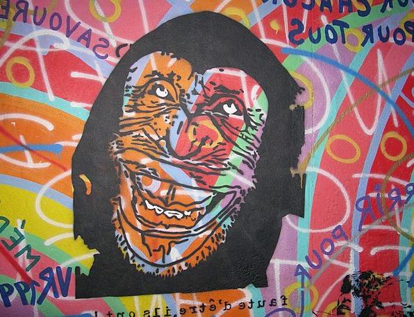 Graffiti Drawings Vandalism Damage Berlin Mural Fr