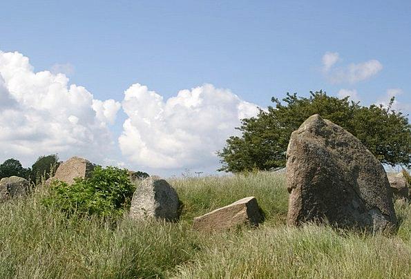 Megaliths Dolmens Landscapes Nature Rügen Island R