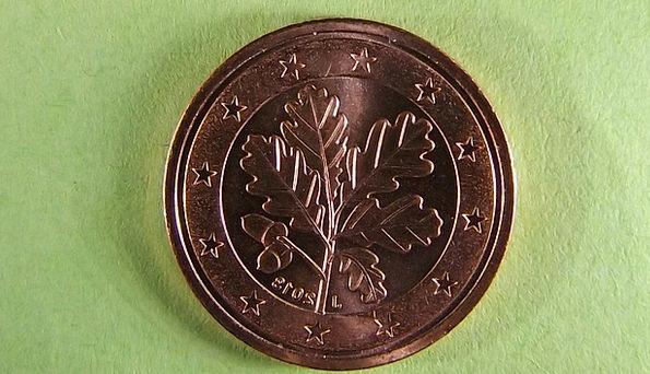 Coin Finance Business Euro Cent Metal Money Curren